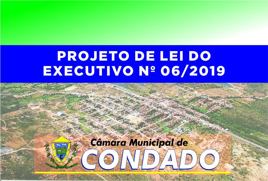 Aprovado Projeto de Lei 06/2019