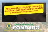 Homenagem a Maria Lúcia